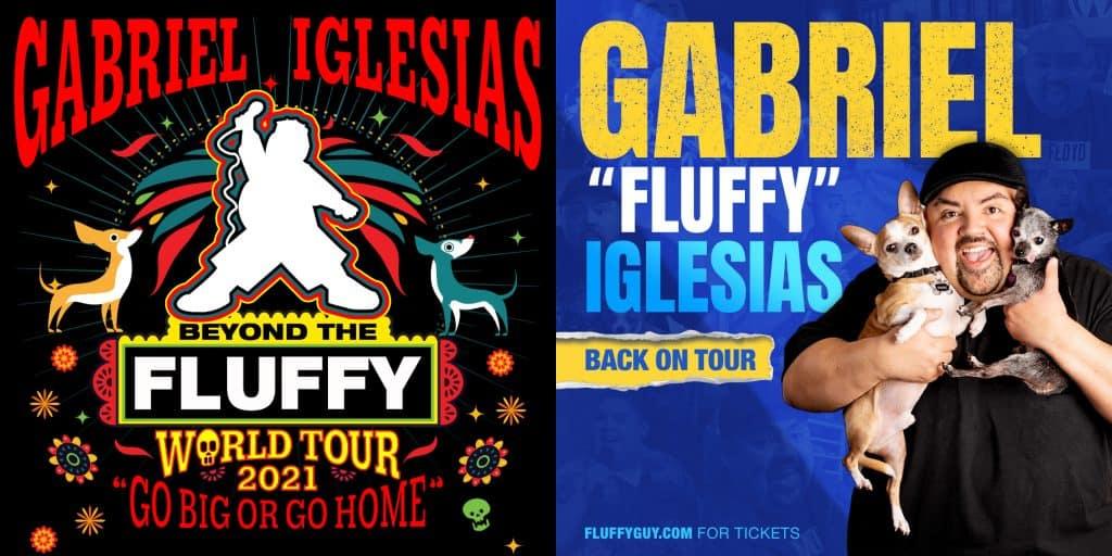 Gabriel Iglesias double tour art