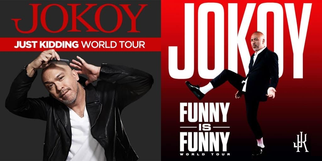 Jo Koy double tour art