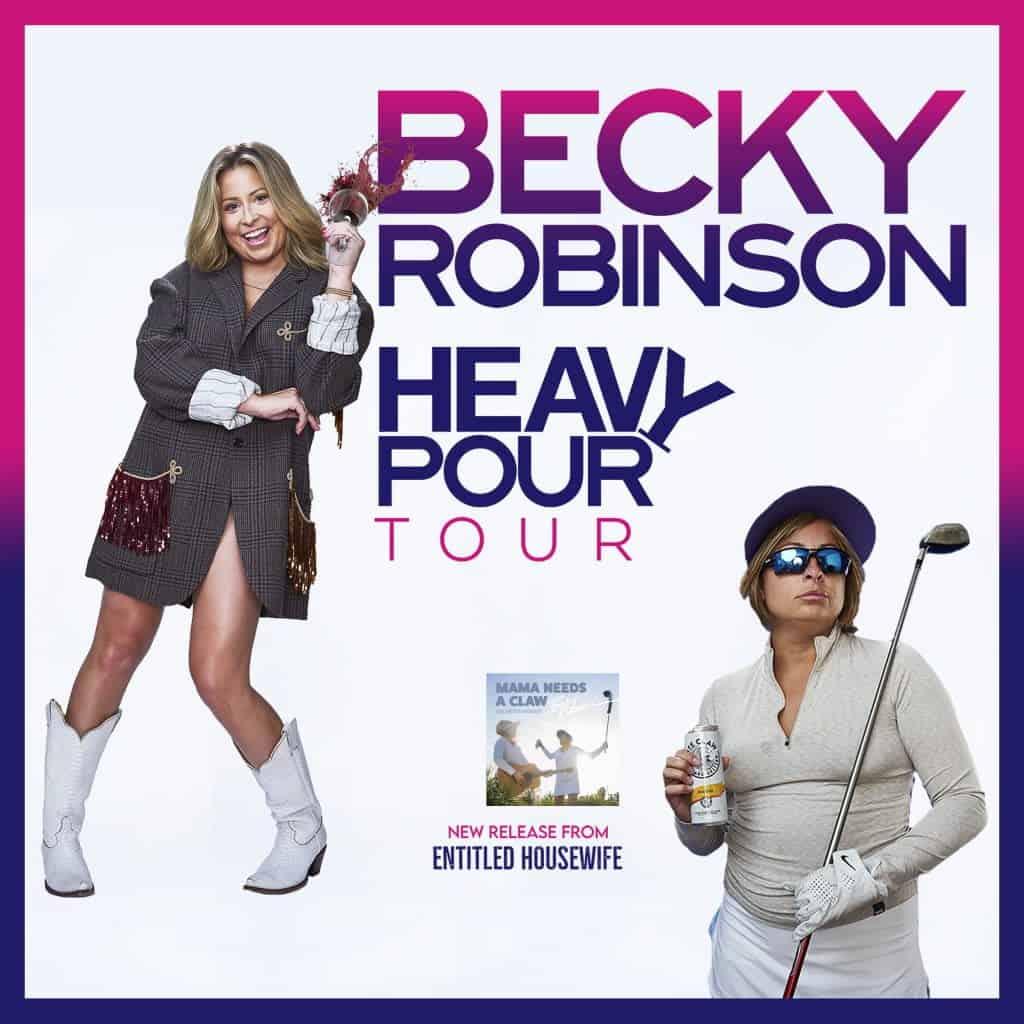 Becky Robinson Tour Photo